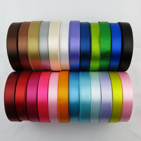 22 meters of 15 mm silk satin ribbon - Yacht Bath and Body