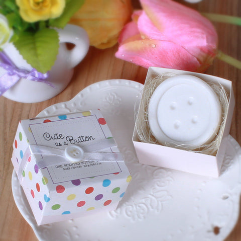 10pcs Cute Button theme soaps - Yacht Bath and Body