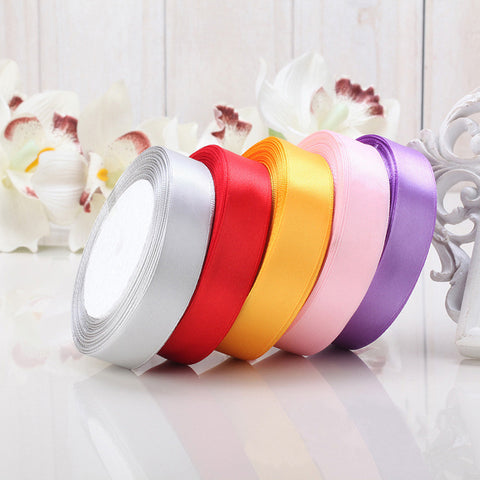 22meters of 25mm Satin Silk Ribbon - Yacht Bath and Body