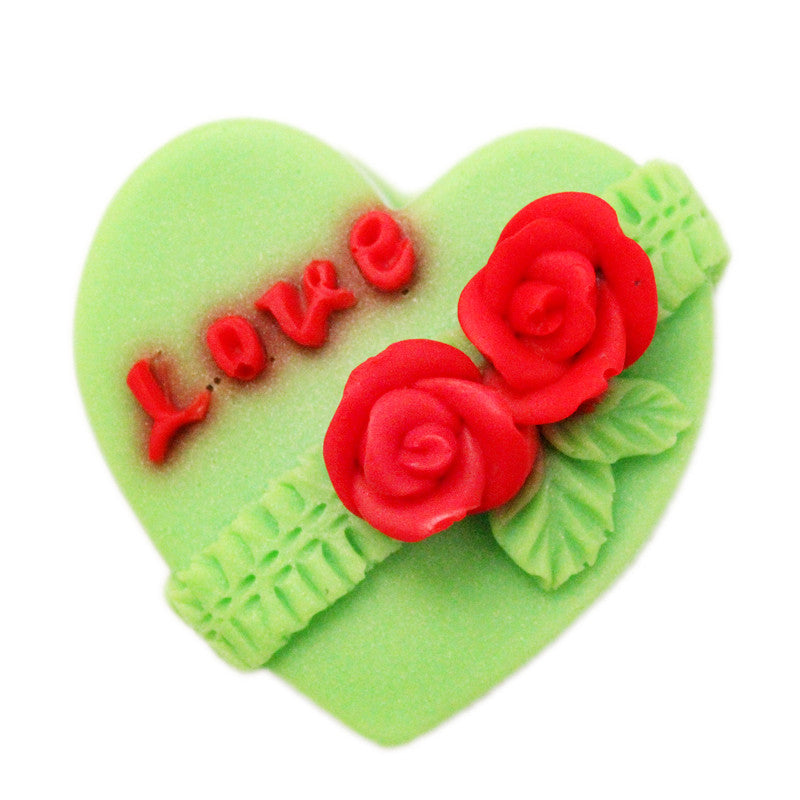 Love in a heart silicon mold - Yacht Bath and Body