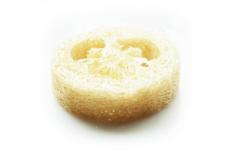 100 Pcs Natural Luffa Slices - Yacht Bath and Body