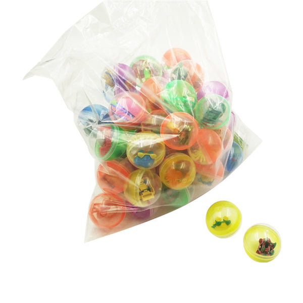 50pcs 45mm Assorted capsule ball toys mini figures party favors gift for kids - Yacht Bath and Body