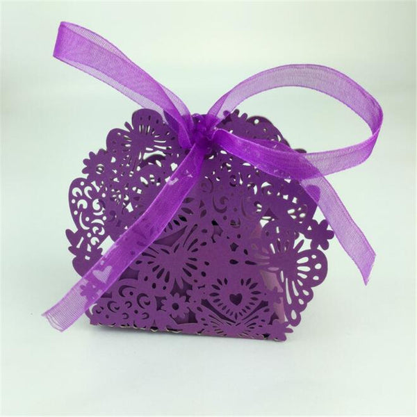 20 pcs Laser cut romantic packaging boxes - Yacht Bath and Body