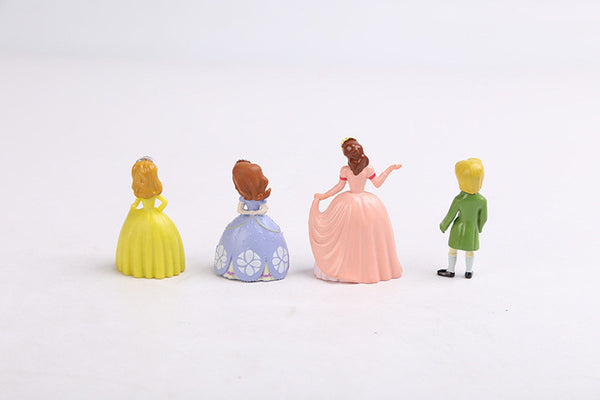 12 pcs Sofia the first mini figures - Yacht Bath and Body