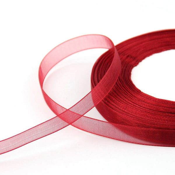 45meters of 10mm or 15mm Organza Ribbons - Yacht Bath and Body