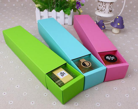 10 pcs packaging boxes (3 colors to choose from), Dimension: 26*6*5.5cm - Yacht Bath and Body
