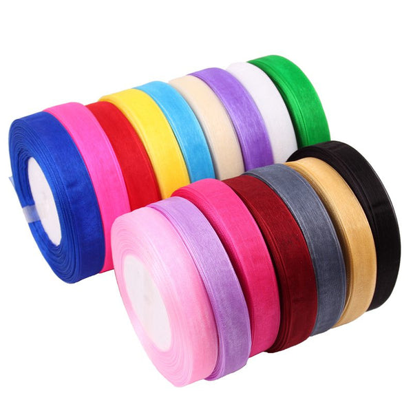 45 Meters of 10mm Organza Ribbon - Yacht Bath and Body