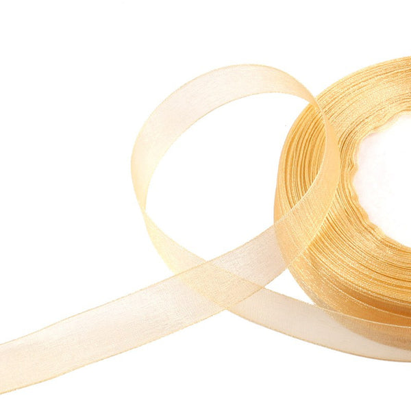 50 yards of 15mm Organza Ribbons - Yacht Bath and Body