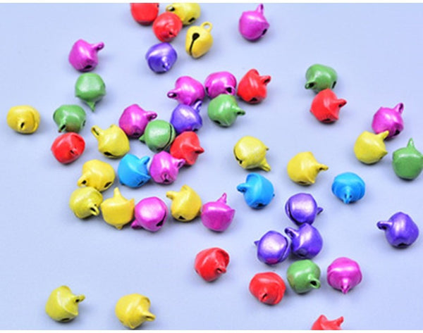 100pcs Small Bells Mix Colors packaging embellishment - Yacht Bath and Body