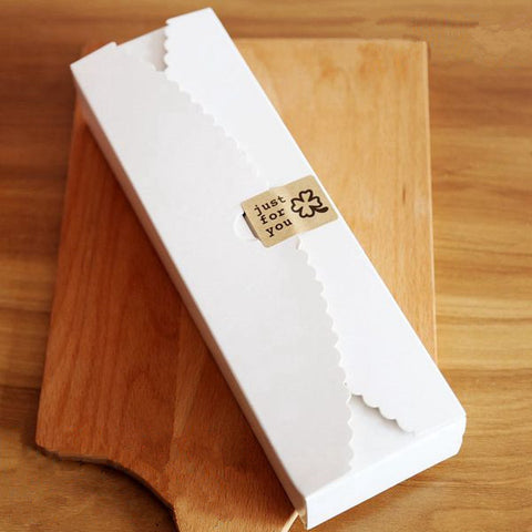 20 pcs White Box Size: 21.5cm(length)*7cm(width)*4.3cm(height) - Yacht Bath and Body