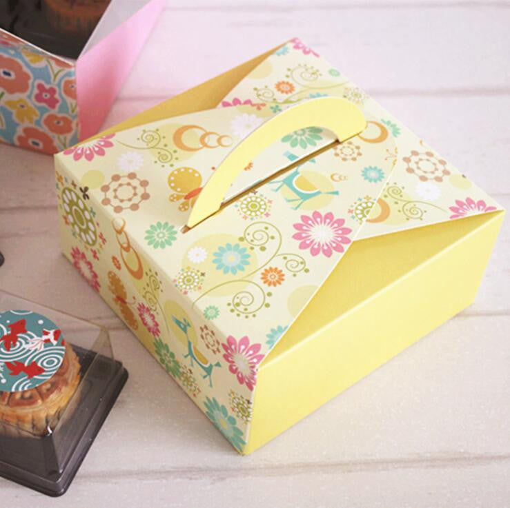5 pcs box, Size: 14.0x14.0x6.5cm (2 colors available) - Yacht Bath and Body