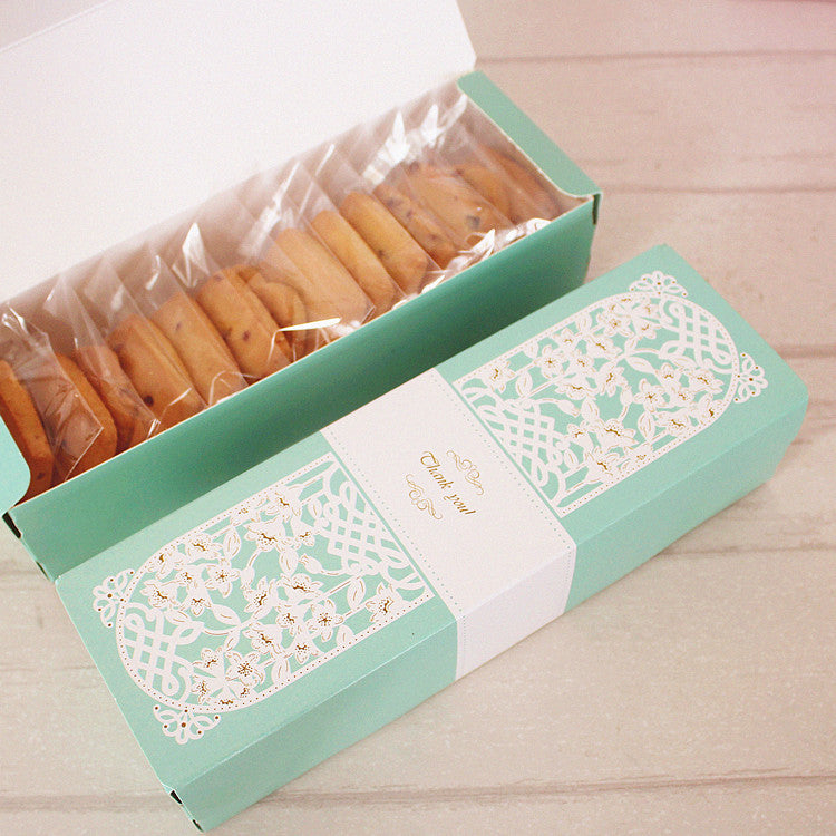 10 pcs thank you boxes, Dimension: 21.5*6.8*4cm - Yacht Bath and Body