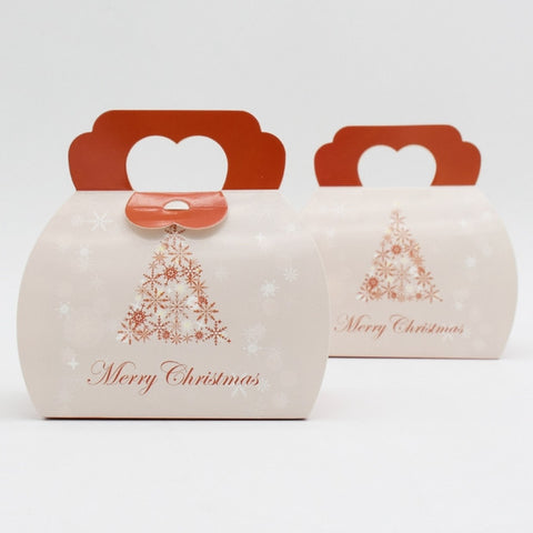 10 pcs Merry Christmas box with handle - Yacht Bath and Body