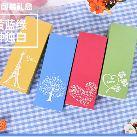 10 pcs packaging box (4 patterns to choose from), Outer dimension: 5*7.2*18.9cm - Yacht Bath and Body
