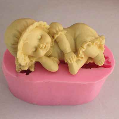 Baby Girl silicon mold - Yacht Bath and Body