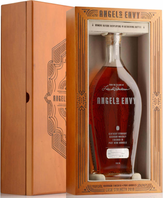 Angel's Envy Cask Strength 2018 750ml - The Rare Whisky Shop