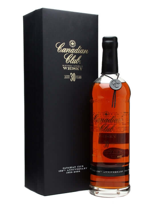 Canadian Club 30 Year Old 750ml - The Rare Whisky Shop