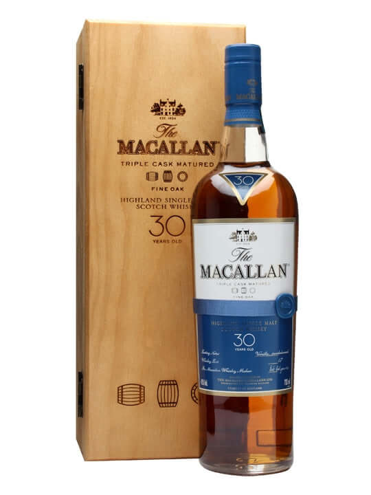 Macallan 30 Year Old Fine Oak 750ml - The Rare Whisky Shop