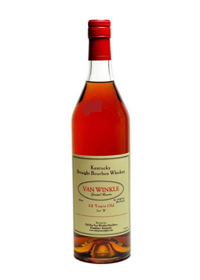 Van Winkle Special Reserve 12 Year Lot B 2020 750ml - The Rare Whiskey Shop