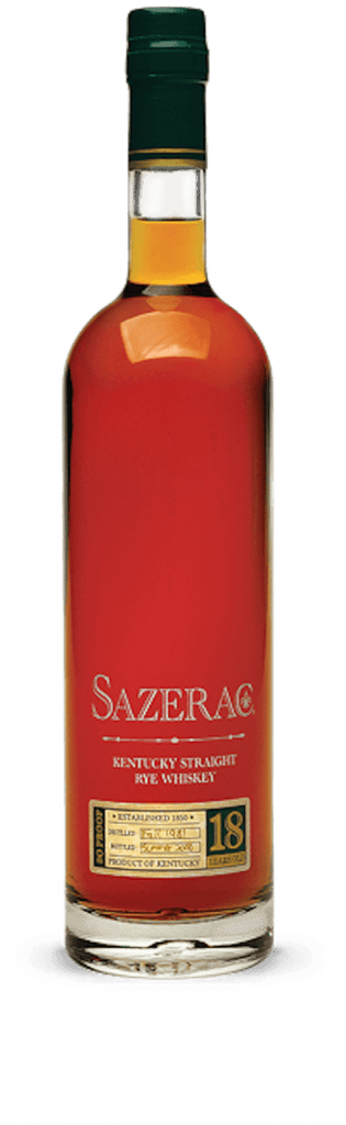 Sazerac Rye 18 Year Old 2018 750ml - The Rare Whisky Shop