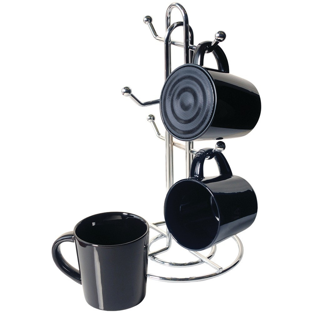 Cta Bluetooth Speaker Mug with mug stand and 2 real mugs