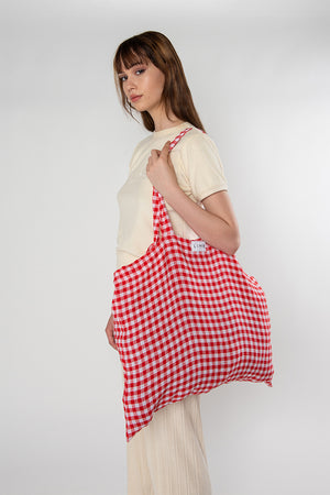Load image into Gallery viewer, Jumbo Tote - Gingham