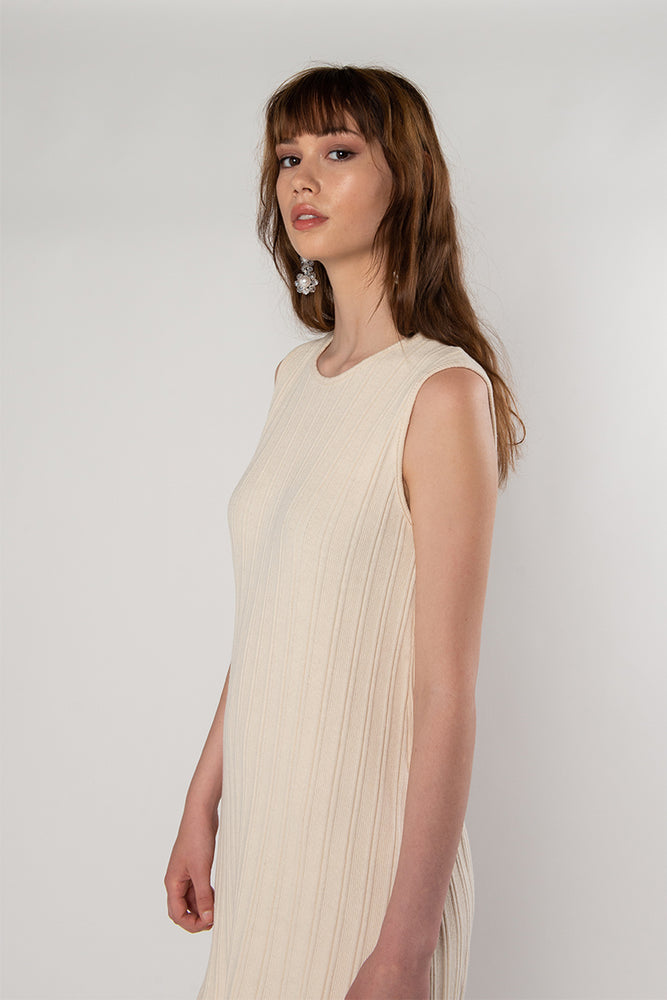 Load image into Gallery viewer, Audrey Dress - Cream