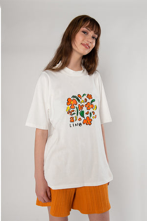 Load image into Gallery viewer, LIMB Tee - white print