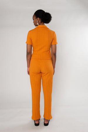 Sylvie Short Sleeve - Orange