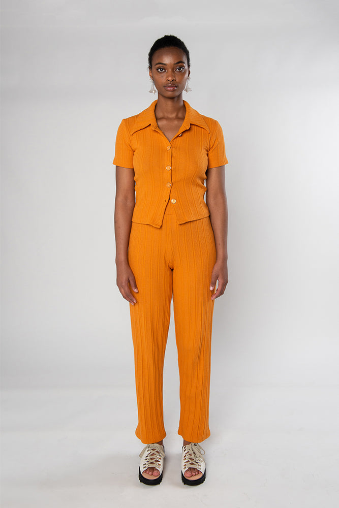 Load image into Gallery viewer, Sylvie Short Sleeve - Orange