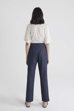 Load image into Gallery viewer, August Pant - Denim