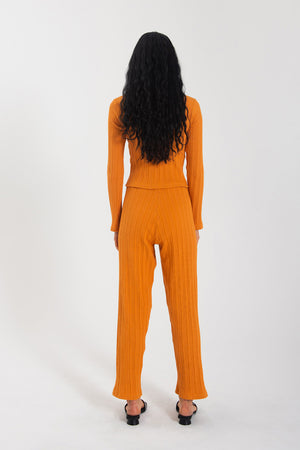 Leisure Pant - Orange
