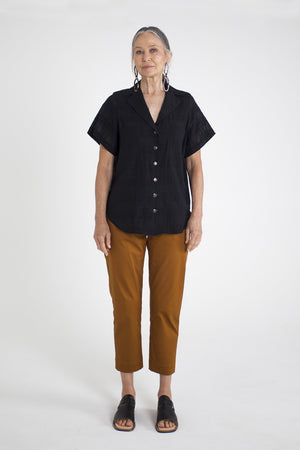 Frankie Shirt - Black Check