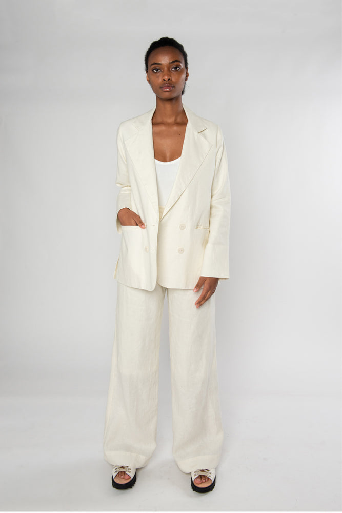 Load image into Gallery viewer, Relaxed Blazer - Cream
