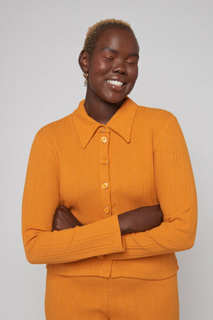 Load image into Gallery viewer, Sylvie Long Sleeve - Orange