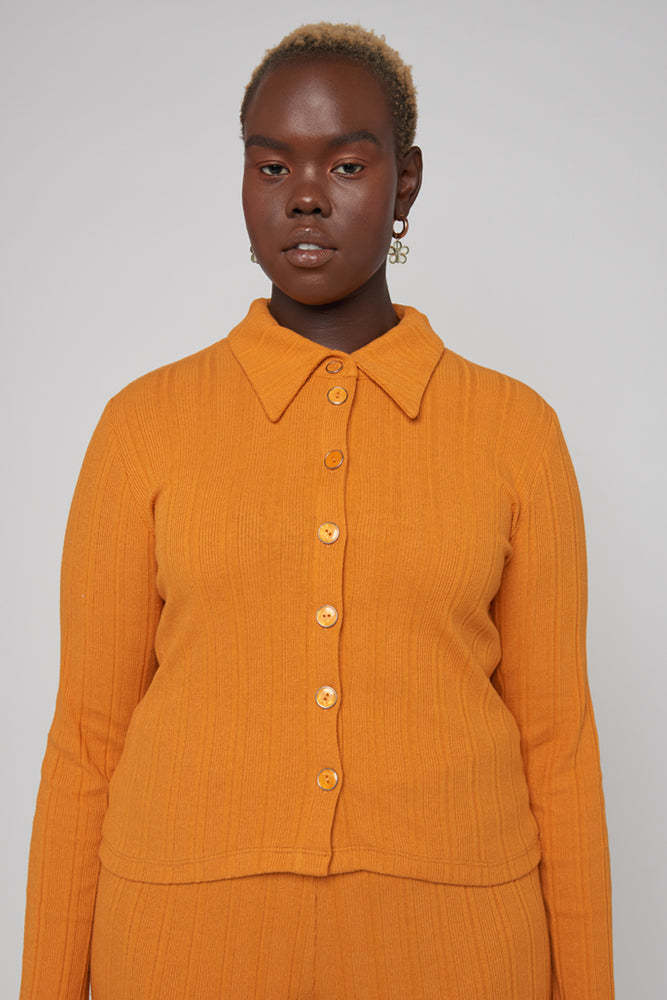 Sylvie Long Sleeve - Orange