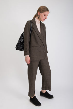 Relaxed Blazer - Caviar Suiting