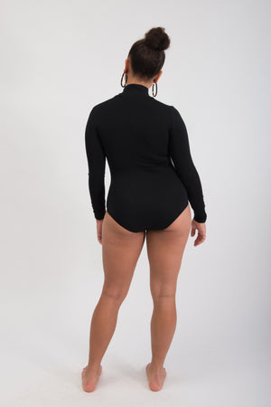 Load image into Gallery viewer, Classic Bodysuit - Black