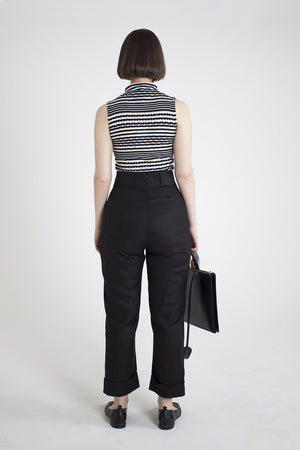 Load image into Gallery viewer, Nina Trouser - Black