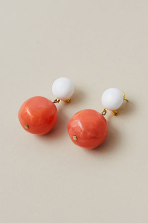 Rachel Comey | Juniper Earrings - White Watermelon