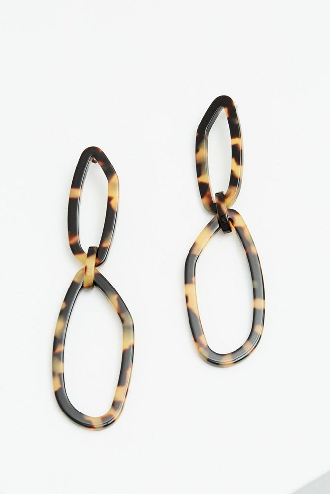 Load image into Gallery viewer, Rachel Comey | Elm Earrings - Tortoise