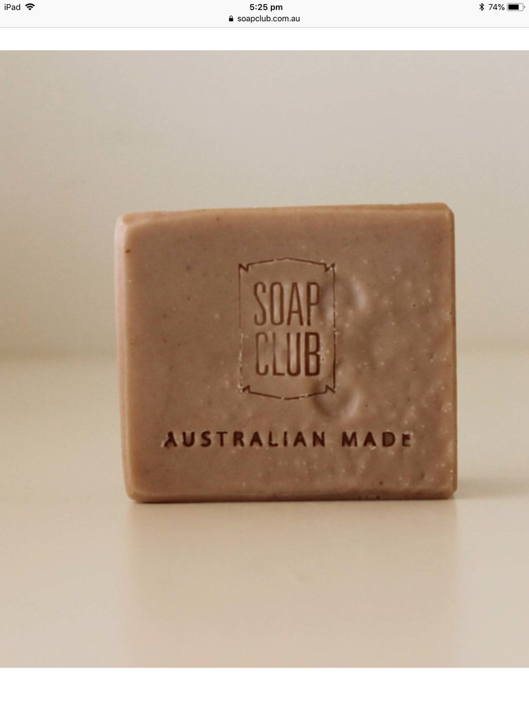 Load image into Gallery viewer, Soap club rose geranium pink clay soap