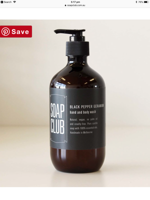 Load image into Gallery viewer, Soap club black pepper & geranium
