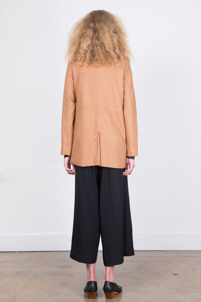 Marcelle Jacket - Camel Wool