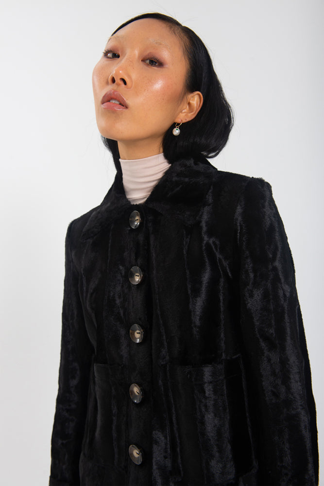 Marcello Jacket - Pony Fur