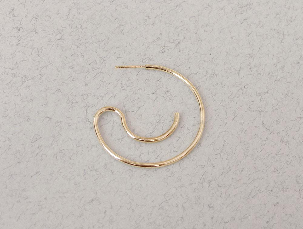 Newend | Smooth Hoop Earrings - Gold