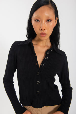 Sylvie Long Sleeve - Black