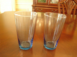 Light Blue Colored Glass 6 Pc Set - FayZen's Kreations