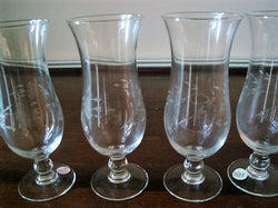 "Princess House ""Heritage"" Crystal Parfait Glass 4 pc Set - FayZen's Kreations"