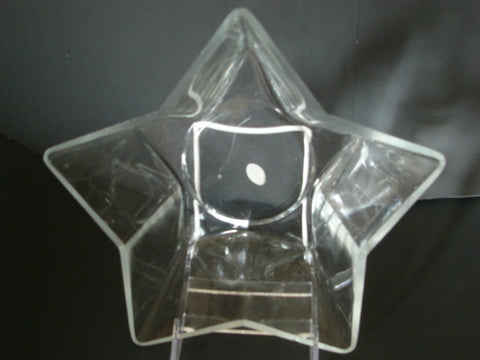 Star Shaped Crystal & Hand-blown Bowl - FayZen's Kreations